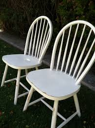how to antique white furniture. Set Of 2 Vintage, Shabby Chic White Chairs, Distressed, Wood, Spindle Chairs How To Antique Furniture