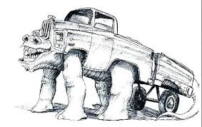 Printable Coloring Pages Trucks Monster Truck Blaze Ideas Of Colo