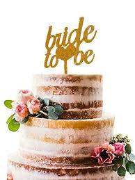 Amazoncom Bride To Be Acrylic Cake Topper Bridal Shower Wedding