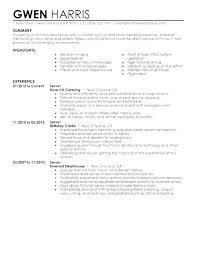 Waiter Resume Example Waitress Resume Responsibilities Classy Waiter Resume