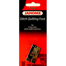 Ditch Quilting Foot - #202087003 & Janome Ditch Quilting Foot - #202087003 Adamdwight.com
