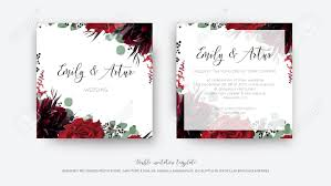 Save The Date Designs Wedding Vector Floral Invite Invitation Save The Date Card Design
