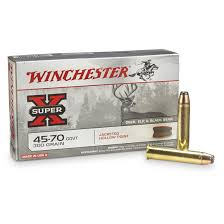 Winchester Super X Rifle 45 70 Govt 300 Grain Jhp 20 Rounds