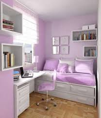 Amazing Bedrooms for Teenage Girls | White and light purple color for  girl's bedroom
