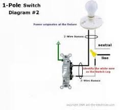 one way switch wiring diagram images one way light switch wiring diagram single pole light