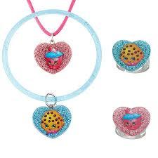 Shopkins Shopkins Cupcake Chic And Kooky Cookie Glitter Heart Set