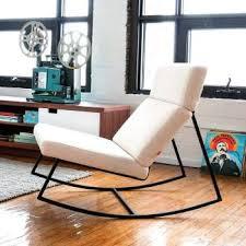trendy living room furniture. modern rocking chairs gliders trendy living room furniture m
