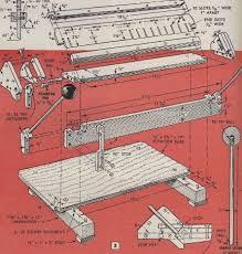 sheet metal bender plans. bending brake plans for download sheet metal bender c