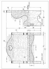 drawing furniture plans. Rocking Chair Drawing Plan Chairs Woods Free Dwg Woodworking Louise Cool  Adirondack Design Ideas Full Size Furniture Plans 3