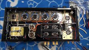 home made tube amp♪~point to point wiring(^^♪ youtube artificial center tap at Tube Amp Wiring