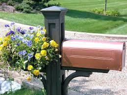 mailbox post ideas. Rustic Mailbox Post Ideas