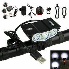 <b>12000LM</b> 3X XML T6 LED SolarStorm <b>USB</b> Cycling <b>Lamp</b> Bicycle ...