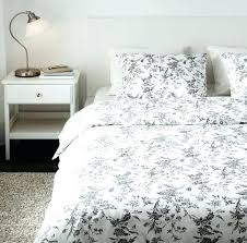 bedding set minimalist bedroom design with white shabby chic sets black fl print pattern ikea sheet
