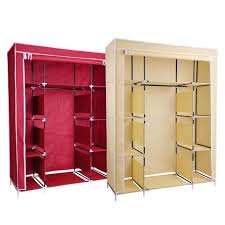 organizer storage rack portable clothes hanger home 50 new portable closet storage shelves colthes wardrobe