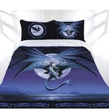 moonstone quilt cover set by anne stokes