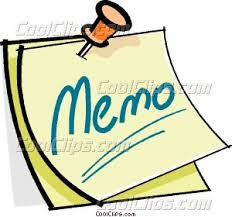 Cool Memos Pushpin Holding A Memo Vector Clip Art