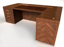 custom wood office furniture. Exquisite Custom L Shaped Desk Wood Office Furniture B