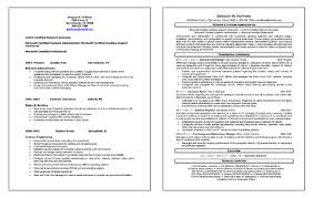 Ex Of Resumes Network Administrator Resume Example