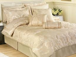fancy cream and gold bedding headboard set sets