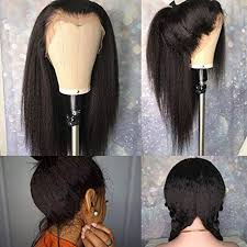 Lace Wig Hair Length Chart Italy Yaki Straight Human Hair Lace Front Wigs Hd