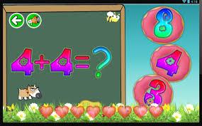 Tasuta õppemängud lastele 3-5 Android-rakendused teenuses