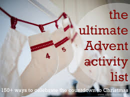 the ultimate countdown and advent activity list by adriel booker