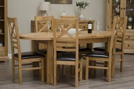 homestyle deluxe solid oak oval extending dining table