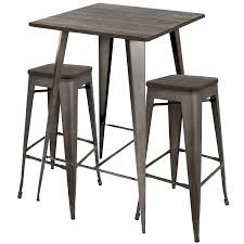 small bar furniture for apartment. Oregon Rustic 3 Piece Pub Set Free Shipping Today Overstock Small Bar Furniture For Apartment