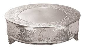 Stainless Steel Cake Stand 20 Round
