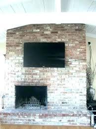 mount tv on brick mount on brick fireplace installation mount tv brick wall