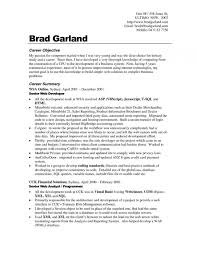 Career Objective In Resume Examples Career Objective Resume Inside