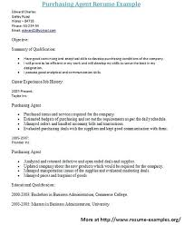 Purchasing Cover Letter Sample Top Purchase Manager Resume Samples