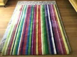 ikea striped rug uk rainbow wool