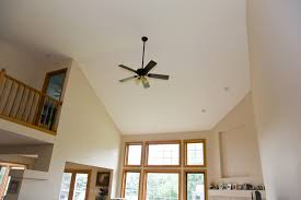 home ceiling design and decor with ceiling fans for vaulted ceilings home remodeling with high