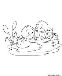 Small Picture Baby Duck Coloring Pages Coloring Coloring Pages