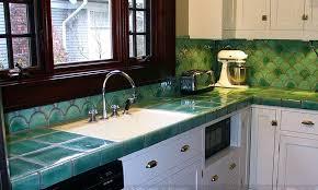 ceramic tile countertops green tiles for kitchen diy ceramic tile kitchen countertops