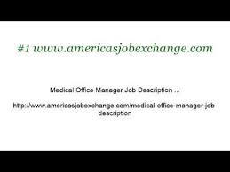 Medical Office Billing Manager Job Description Job Description For Medical Billing Supervisor Youtube