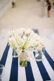 navy and white striped table runner nautical table runner wedding table runner kitchen table decor dining table nautical wedding 2542893