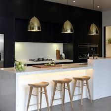 modern white and black kitchens. Modern Black And White Kitchen Kitchens H