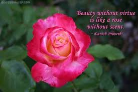 Quotes About Roses And Beauty Best of Virtue Quotes Sayings Pictures And Images