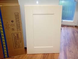 kitchen unit doors job lot cream shaker style doors and drawer