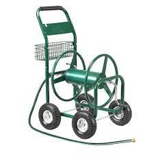 garden water hose reel cart 300ft heavy