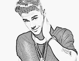 Small Picture Fresh Justin Bieber Coloring Pages 57 With Additional Coloring
