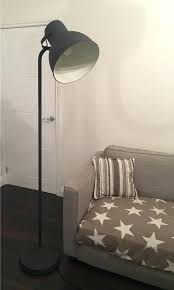 Ikea Floor Lamps Uk Dark Grey Oversized Spotlight Lamp Arstid