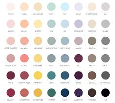 color chart color chart 40 ink colors seventh and anderson