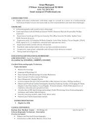 Magnificent Cover Letter Sample Ultrasound Tech With Ultrasound