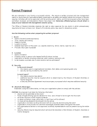 Official Proposal Template Formal Proposal Template Authorization Letter Pdf 9