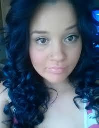 Midnight Blue Hair Color On Black