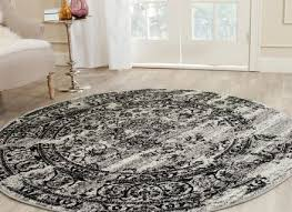 round area rug 4 039 modern oriental contemporary living room
