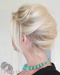 French Twist Hair Style imogen foxy locks simple french twist 2442 by stevesalt.us